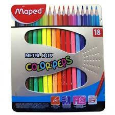 Métalbox 18 crayons de couleur Color peps (Default)