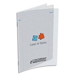OXFORD Cahier de liaison 17 x 22 cm, 48 pages en 90g. couverture polypro incolore