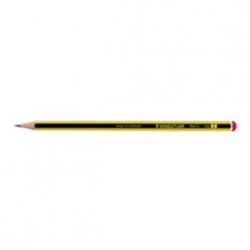 Crayon à papier HB Noris 120 (rayé noir et jaune) Crayons et porte-mines