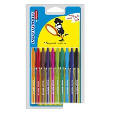 Lot 10 stylos mini bille Papermate (Default)