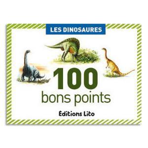 Boite de 100 bons points les dinosaures