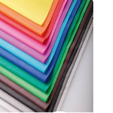 Protège-cahier PVC gris opaque (grain cuir) en 20/100ème de mm avec porte-étiquette  Ref Clairefontaine : 72113C Code 301900