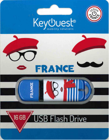 Clé USB 16 GB FRANCE KeyOuest