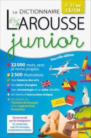 Dictionnaire Larousse Junior de poche 7/11 ans
