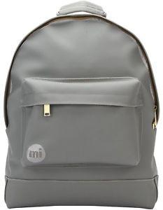 Mi-Pac Rubber Backpack GRIS ciré imperméable