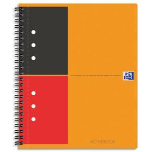 OXFORD Cahier ACTIVEBOOK spirales 160 pages perforées