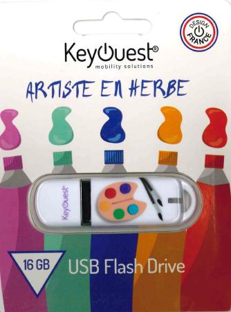 Clé USB 16 GB PEINTRE KeyOuest