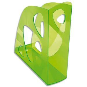 Porte-revues vert translucide 320746
