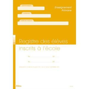 FUZEAU Registre matricule des élèves 9804