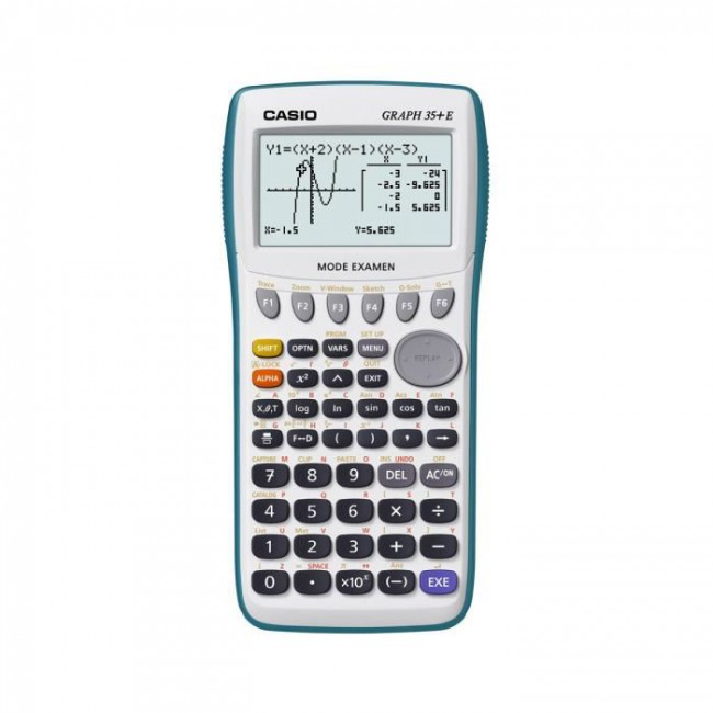 calculatrice graph 35 e mode examen casio livr e sous blister port gratuit. Black Bedroom Furniture Sets. Home Design Ideas