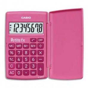 calculatrice petite FX couleur rose de Casio CASIO Calculatrice petite FX couleur rose de Casio la première calculette en école primaire