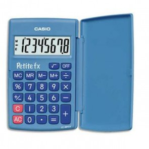 calculatrice petite FX couleur bleue de Casio  CALCULETTE CASIO