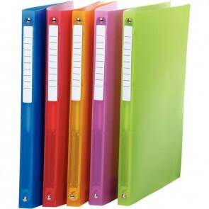 Classeur en polypropylène Color Fresh, format A4, dos 2 cm