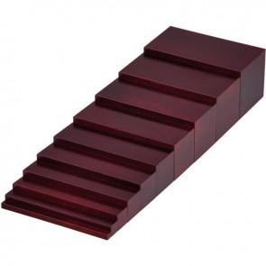 Escalier marron, gamme économique