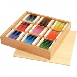 Tablettes des couleurs, gamme économique