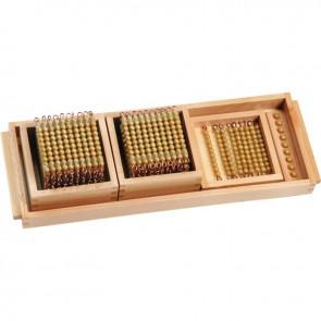 Matériel de perles pour système décimal, gamme économique