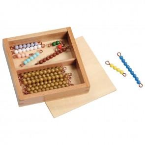 Les perles pour quantités de 1 à 19, gamme économique