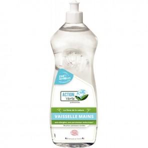 Flacon de 1 litre de liquide vaisselle mains peaux sensible