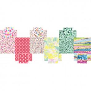 Pochette de 30 feuilles pour Décopatch motifs graphiques