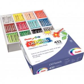 Classpack de 432 pastels à l'huile 8 mm