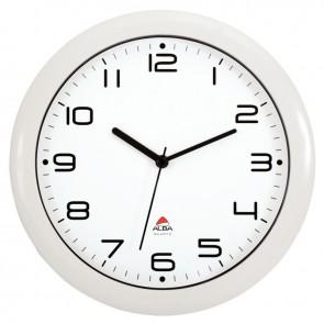 Horloge silencieuse diamètre 30cm blanche