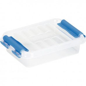 Boîte de rangement transparent 0,2 litres