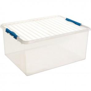 Boîte de rangement transparent 120 litres