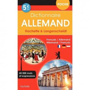 Dictionnaire de poche français / allemand hachette & langenscheidt
