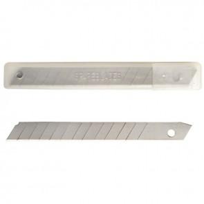 Étui de 10 lames de 9 mm pour cutter petit modèle