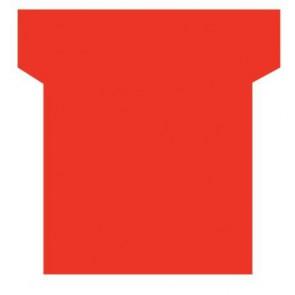 Paquet de 100 fiche planning indice 2  rouge