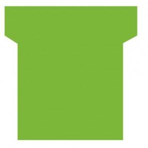 Paquet de 100 fiche planning indice 2  vert