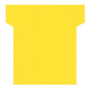 Paquet de 100 fiche planning indice 2  jaune
