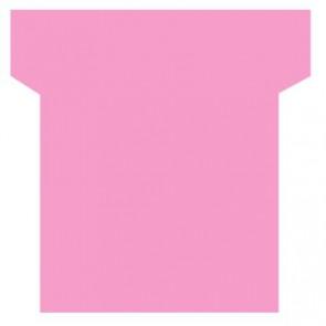 Paquet de 100 fiche planning indice 2  rose