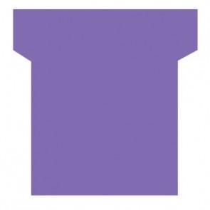 Paquet de 100 fiche planning indice 2  violet
