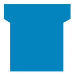 Paquet de 100 fiche planning indice 3  bleu clair