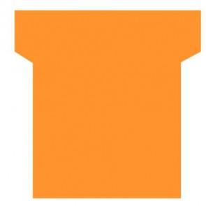 Paquet de 100 fiche planning indice 3  orange
