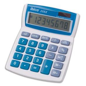 IBICO Calculatrice de bureau 8 chiffres 208 X