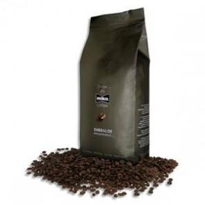 CAFE Paquet de 1kg de café en grain Emeraude 80% d'Arabica et 20% de Robusta