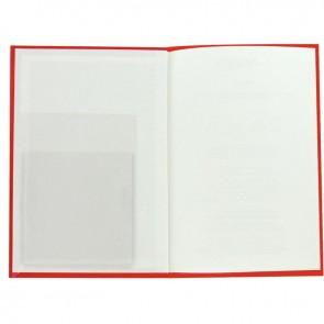 Rouleau de 500 pochettes porte-fiche adhésives et transparentes dimensions : 9,5x13,5 cm