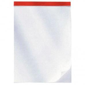 Bloc de bureau 100 feuilles 60 g, 5x5 sans couverture, 21x29,7 cm