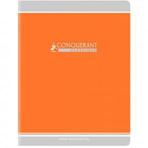 Cahier d'apprentissage piqûre 32 pages, format 17 x 22 cm, réglure sécail 2,5 mm