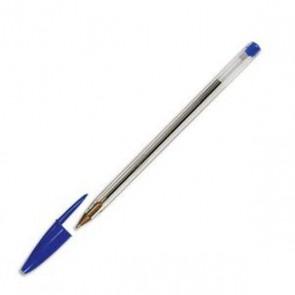 Stylos bille BIC pointe moyenne cristal bleu Stylos bille