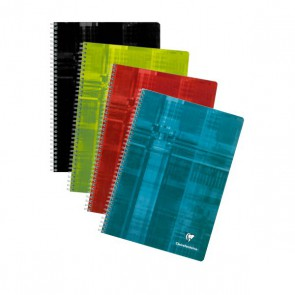 Cahier A4 spirale 224 P CLAIREFONTAINE
