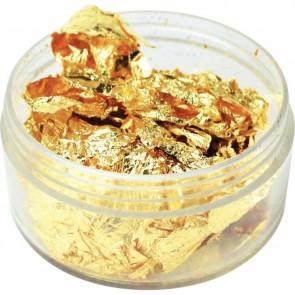 Pot 6g de copeaux à dorer or