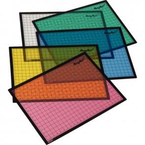 Set de 5 sous mains 50x36cm coloris assortis