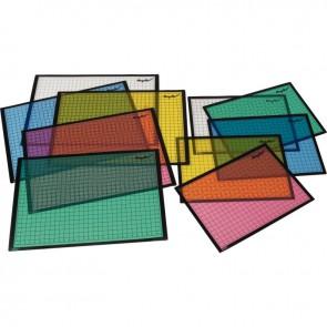 Set de 5 sous mains 65x47cm  coloris assortis