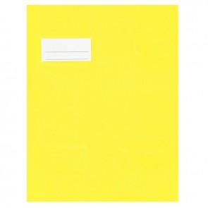 Paquet de 10 protèges-cahier épaisseur 21/100ème 17x22 cm PVC jaune