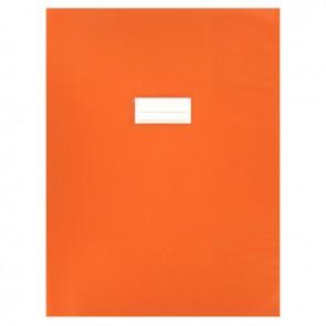 Paquet de 10 protèges-cahier épaisseur 21/100ème 24x32cm PVC orange