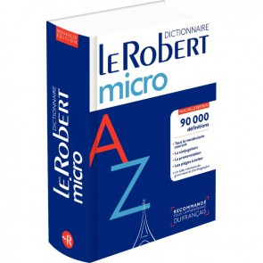 Dictionnaire Le Robert Micro