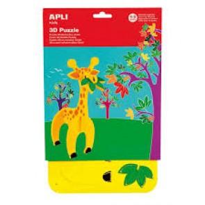 """puzzle 3D mousse caoutchouc """" Girafe"""""""